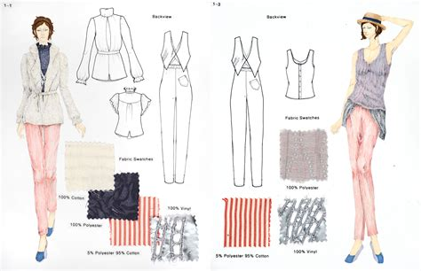 fashion portfolio layout exles design tests fit ashcan studio of art