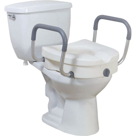 raised toilet seat with arms and legs raised toilet seat with removable padded arms