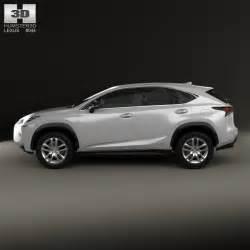 lexus nx hybrid 2014 3d model humster3d