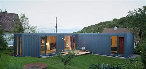 small modern houses containerlove a small modern house lhvh architekten