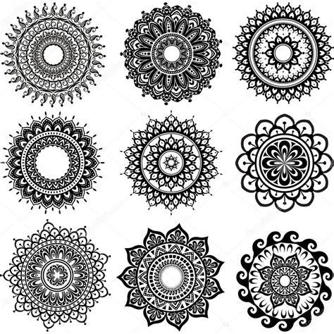 round ornament pattern stock vector 169 wikki33 50058689