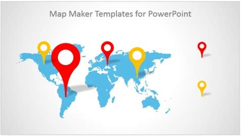 Best Map Maker Templates For Powerpoint World Map Powerpoint Template