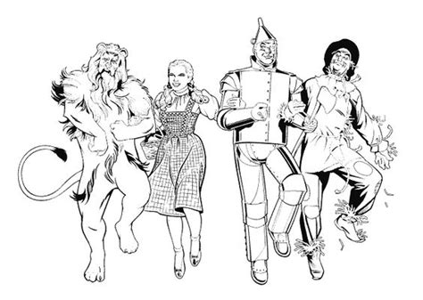 coloring pages of the yellow brick road yellow brick road wizard of oz coloring pages coloring pages