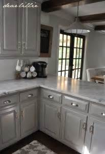 dear lillie darker gray cabinets and our marble review - painting kitchen cabinets gray decor ideasdecor ideas