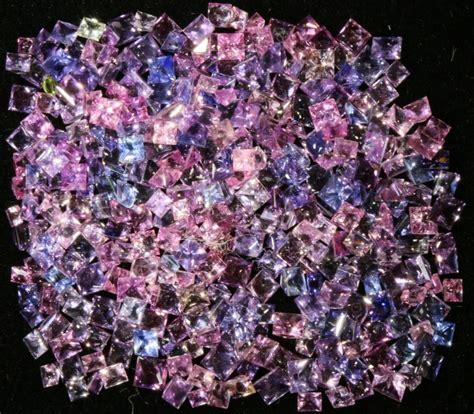Pink Sapphire 2 25 Cts 28 25 cts commercial parcel pink sapphires gogo 1576