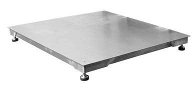 pentronic base floor scale 1 2m x 1 2m peninsula scales water resistant washdown scales richter scale