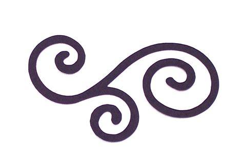 clip scroll ornamental clipart scroll pencil and in color ornamental