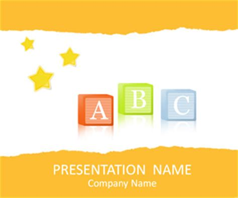 free preschool powerpoint templates preschool powerpoint template templateswise