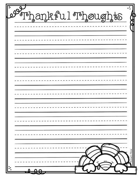 turkey writing template free writing paper children powerpointkeygen x