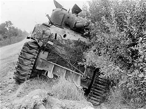tilly and tank books knocked out m4 sherman tank normandy 1944 world war photos