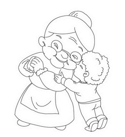 Grandparents Coloring Page Reading Coloring Pages Grandparent Coloring Pages
