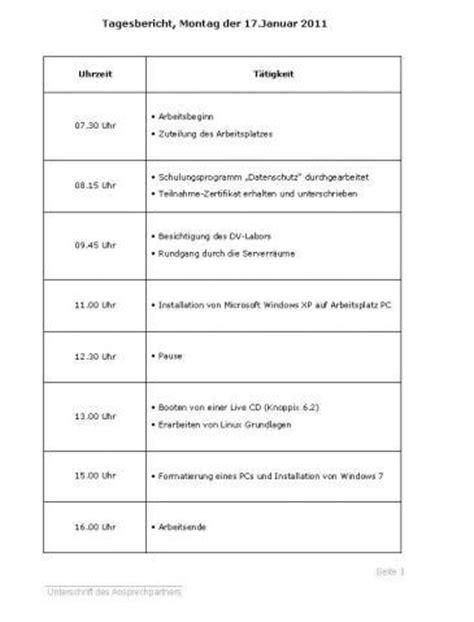 Tagesprotokoll Praktikum Vorlage Wie Kann Ich Ein Tabellarischen Tagesbericht Schreiben 191 Praktikum Tabellarischer