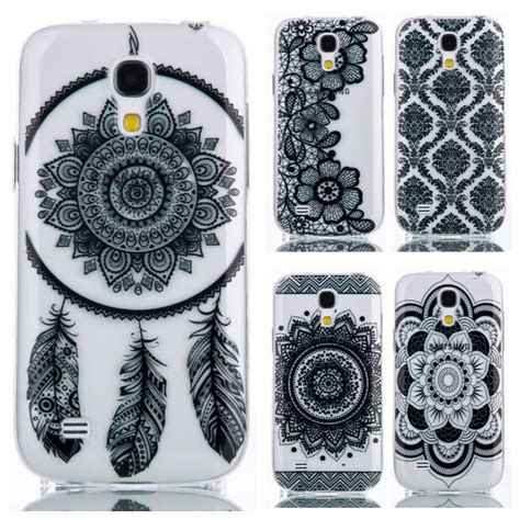 Mini 4 Flower Softcase Cover Tpu Soft Limited black lace flower pattern tpu silicone soft sfor samsung