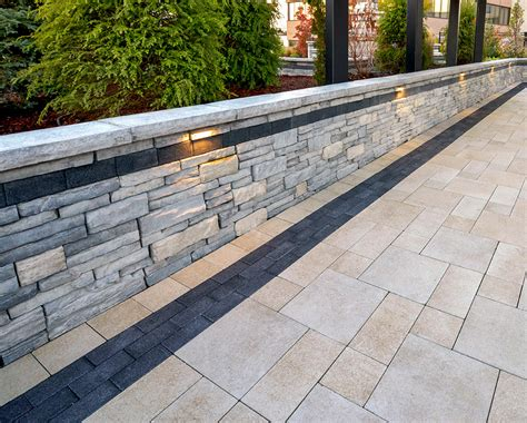 Wall Pavers Interlocking Concrete Pavers Retaining Walls In Connecticut