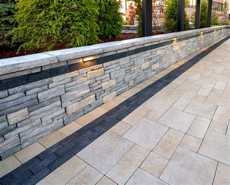Interlocking Wall Interlocking Concrete Pavers Retaining Walls In Connecticut