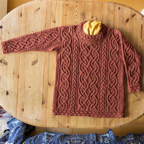 free patterns aran knitting ravelry irisknittings st brigid for iris designer