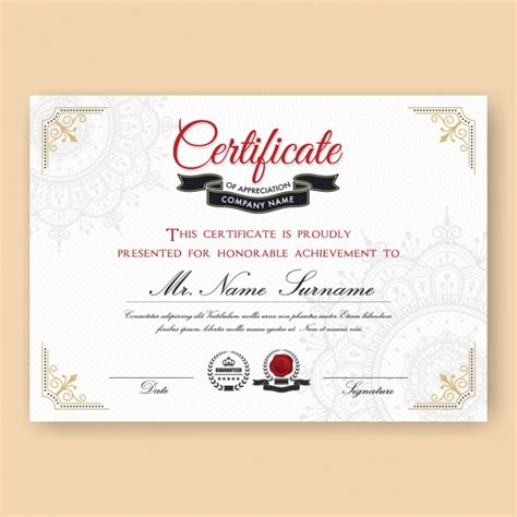 certificate template design certificate backgrounds vectors photos and psd files