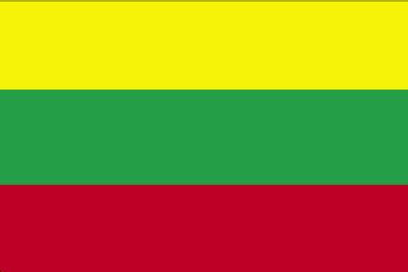 flags of the world green yellow red lithuania flag description government