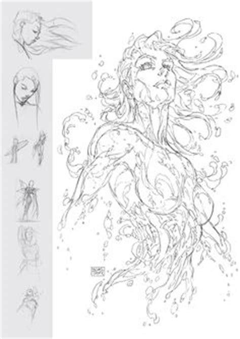 libro turners sketchbooks fathom tpb 2 cover michael turner super hero garabatos para dibujar y l 225 piz