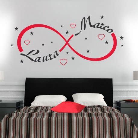 adesivi da parete da letto wall sticker adesivo muro simbolo infinito gigio store