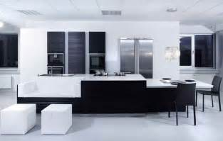 Modern Black And White Kitchen Designs by And White Modern Kitchen Inspiration From Kitcheconcept