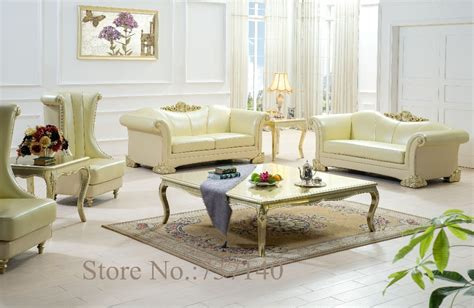 european style living room furniture leather sofa high quality chesterfiled sofa luxury