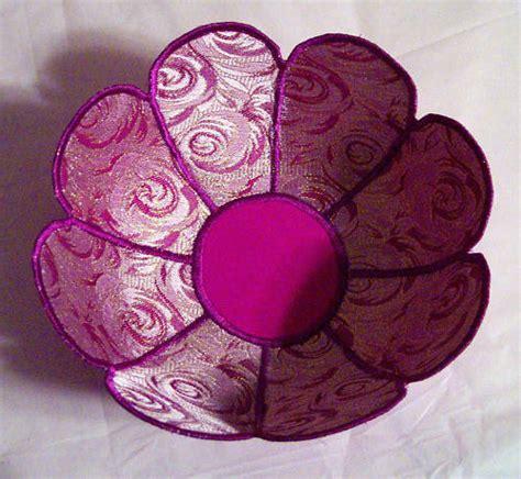pattern for fabric bowls fabric bowl sewing pattern flower bowl lynda anne ebay
