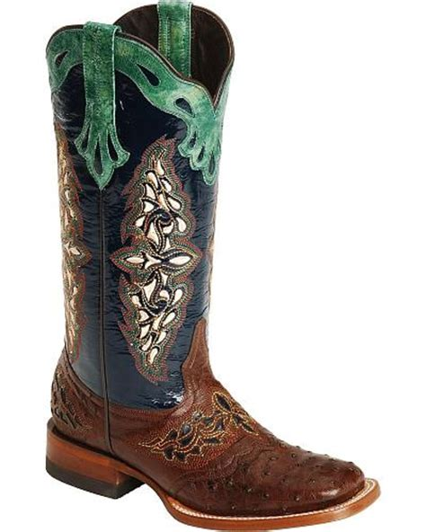 women s other skin ostrich skin boots