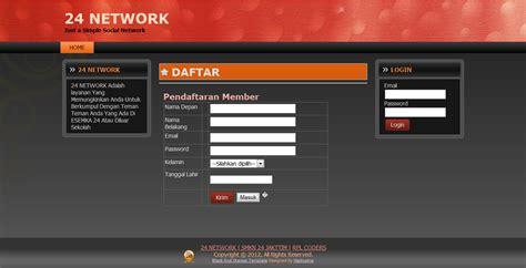 membuat web jejaring sosial dengan php membuat jejaring sosial dengan php
