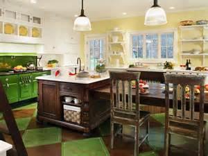 retro kitchen flooring ideas green vintage inspired kitchen regina bilotta hgtv
