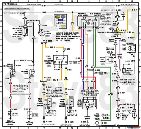 early ford bronco wiring diagram wiring diagram with