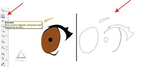 tutorial gambar kartun corel draw tutorial corel draw membuat kartun komik anime tokoh