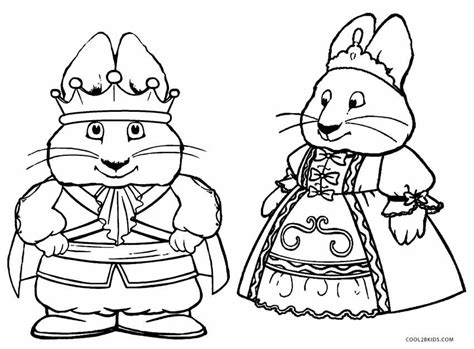 free printable max and ruby coloring pages for