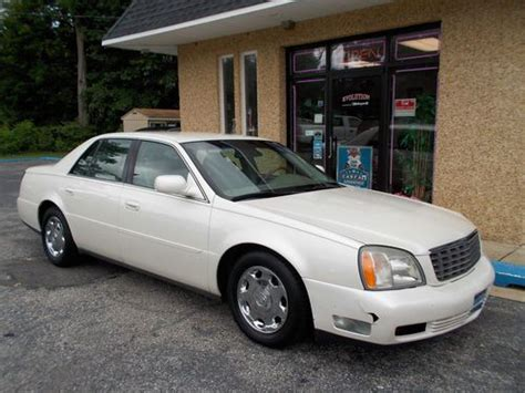 auto air conditioning service 2002 cadillac deville electronic valve timing buy used 2002 cadillac deville dhs only 80k miles 2 owner car nj cheap commuter seadan 4 in