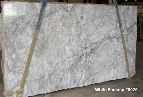 White Fantasy Granite   Traditional   Kitchen   Cleveland