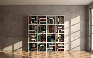 cool minimalist bookshelf to read it digsdigs