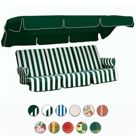 cuscini per dondoli cuscino tettino e appoggiabraccia per dondoli 4 posti by