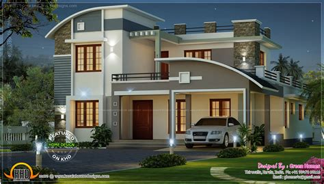 Kerala Home Design Single Floor Plans by Modern Beautiful Home Kerala Home Design And Floor Plans
