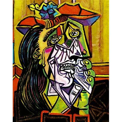picasso paintings and facts the weeping