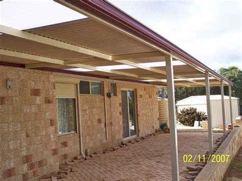 Flat Patio by Flat Roof Patios Perth Patios Pergolas And Carports