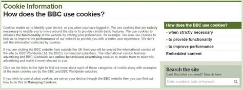 cookie policy template choice image templates design ideas