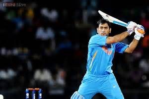 Dhoni is all set to play for the first time in the shorter version