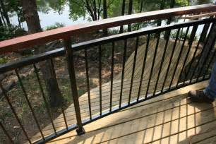 Ideasdistinctive and various composite terrace railing a few ideas