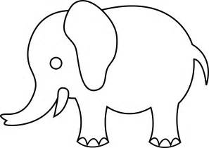 Best photos of simple elephant outline elephant outline drawing