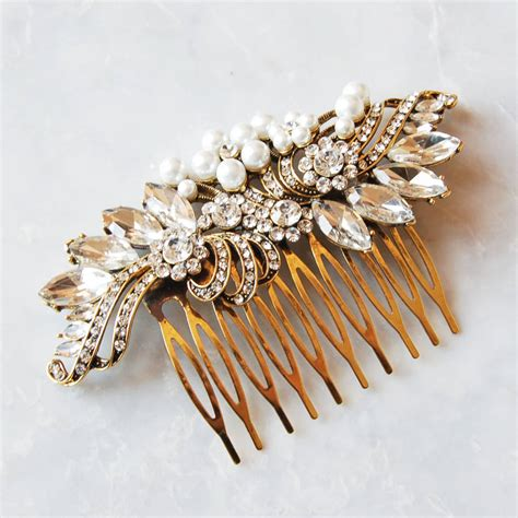Vintage Style Wedding Hair by Vintage Style Wedding Hair Comb By Highland