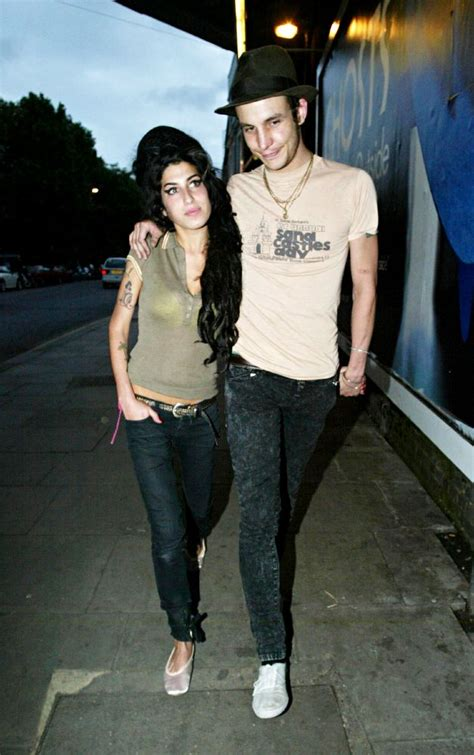 Winehouse And New Hubby In Spat by Winehouse S Ex Fielder Civil On Support