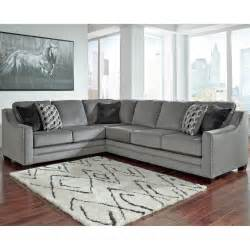 benchcraft bicknell 2 pc sectional raf sofa laf sofa with