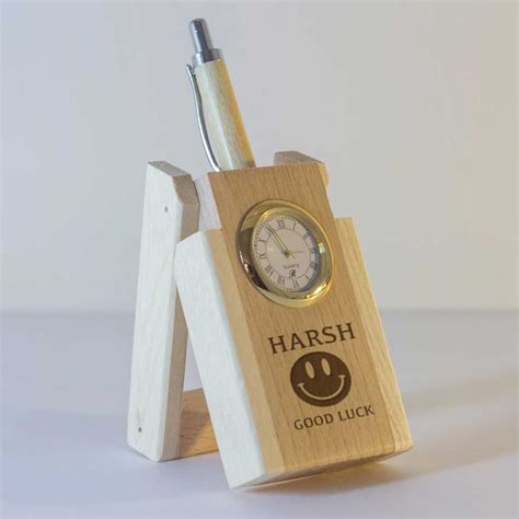 Pen Stand Clock 16034 15 gifts rs 500 infornicle