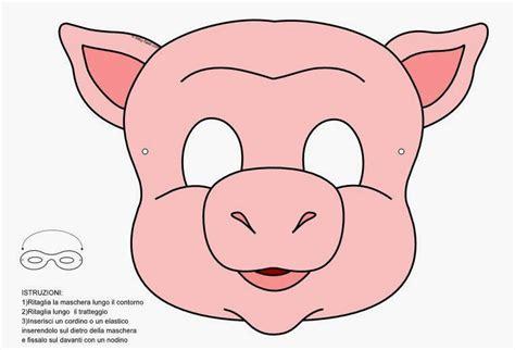 careetas para ni os caretas para imprimir y recortar m 225 scaras de cerdos para imprimir color y colorear con lobo