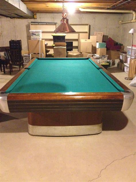 brunswick balke collender pool table 1945 1946 brunswick balke collender 10ft snooker table for